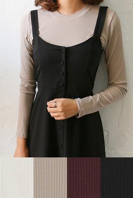 촉감좋은 긴팔 티셔츠 (4color)