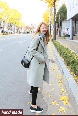 트로이 핸드메이드 코트(2color)